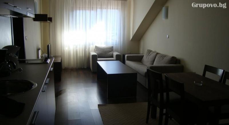 Нощувка на човек + сауна и парна баня в Апартхотел Аспен, Банско, снимка 11
