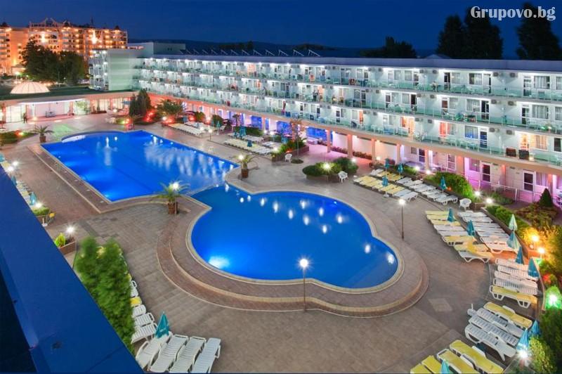 Нощувка на човексъс закуска + БАСЕЙН и АКВАПАРК в хотел Котва****, Слънчев бряг, снимка 2