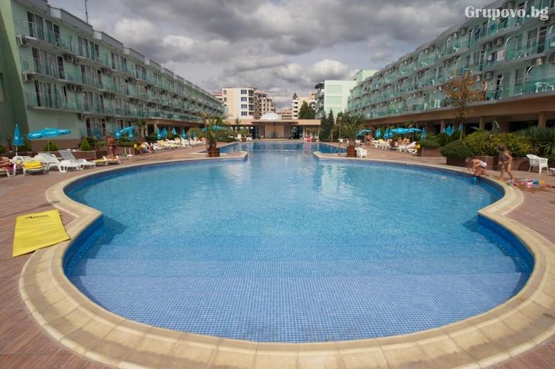 Нощувка на човексъс закуска + БАСЕЙН и АКВАПАРК в хотел Котва****, Слънчев бряг, снимка 3