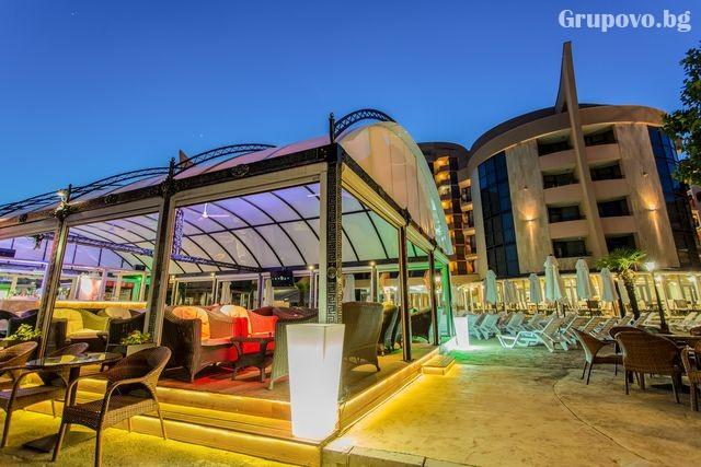 Нощувка на човек на база All Inclusive + басейн, шезлонг и чадър на ПЪРВА линия в хотел Фиеста М, Слънчев Бряг. ДЕТЕ ДО 11.99Г. БЕЗПЛАТНО, снимка 10