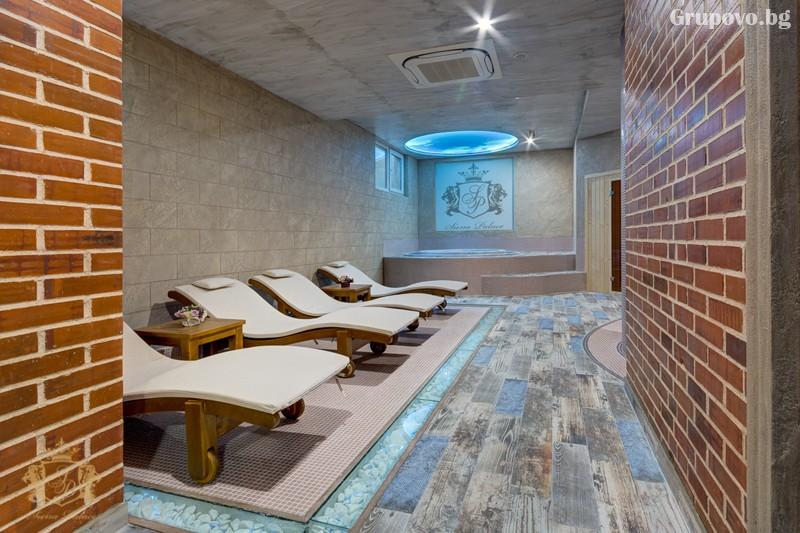 Нощувка на човек със закуска и вечеря + басейн и СПА зона от хотел Сиена палас****, Приморско, снимка 9