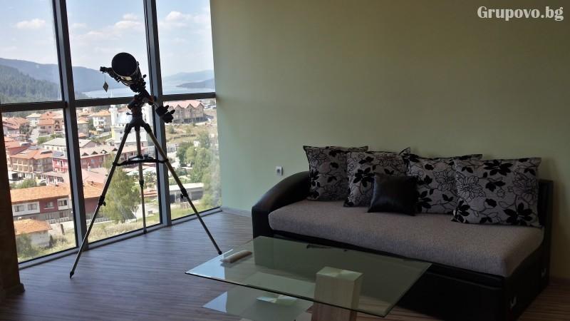 Почивка на язовир Доспат! Нощувка със закуска и вечеря на човек в апартамент с джакузи от хотел Сафи., снимка 6