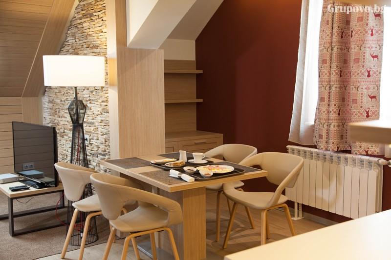 Нощувка на човек със закуска и вечеря + басейн и релакс зона от хотел Амира****, Банско, снимка 16