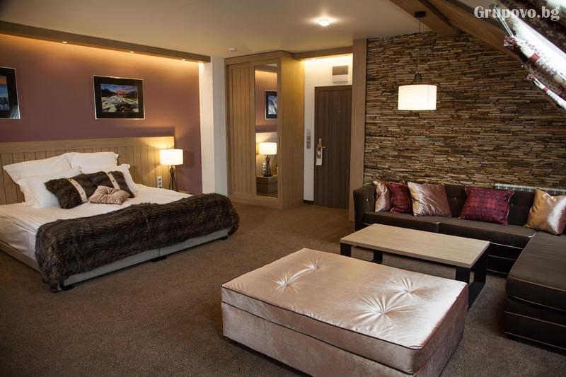 Нощувка на човек със закуска и вечеря + басейн и релакс зона от хотел Амира****, Банско, снимка 13