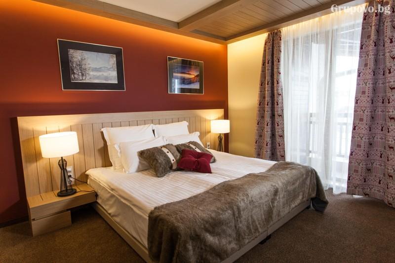 Нощувка на човек със закуска и вечеря + басейн и релакс зона от хотел Амира****, Банско, снимка 12