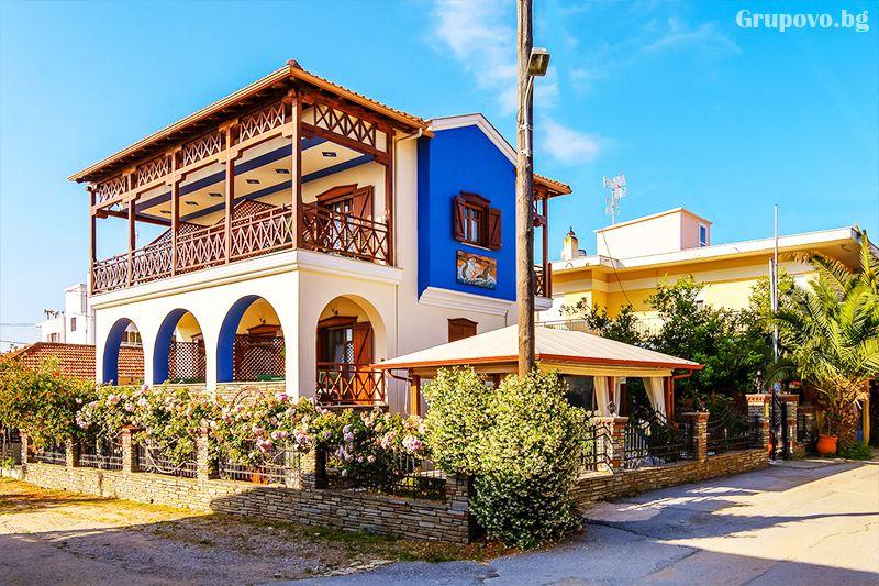 Семеен хотел Ниридес, Амулиани, Гърция