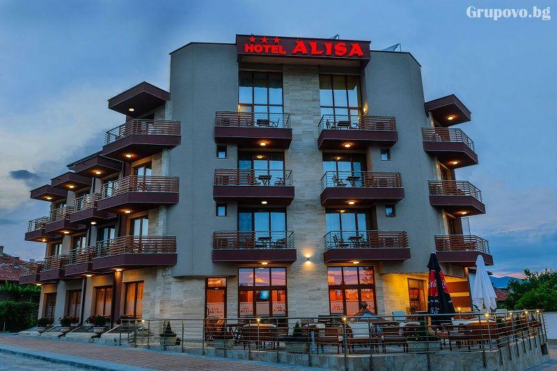 Нощувка на човек със закуска и вечеря + басейн и СПА в НОВИЯ хотел Алиса,  Павел Баня, снимка 3
