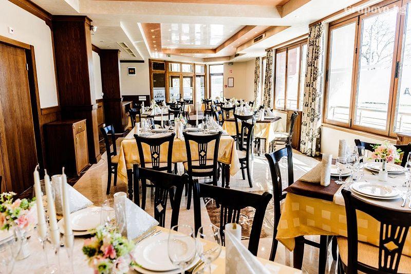 Нощувка на човек със закуска и вечеря + басейн и СПА в НОВИЯ хотел Алиса,  Павел Баня, снимка 13