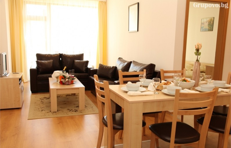 Великден край Банско! 2, 3 или 4 нощувки на човек със закуски и вечери + празничен обяд, топъл вътрешен басейн и сауна от Аспен Резорт***, снимка 13