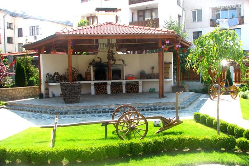 Нощувка на човек със закуска и вечеря + басейн и сауна в хотел Евелина Палас****, Банско, снимка 13